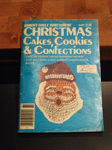 Vintage Christmas Baking Magazine 1978