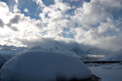 neve e nuvole