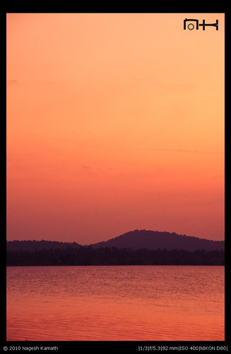 Golden Sunset | Kabini
