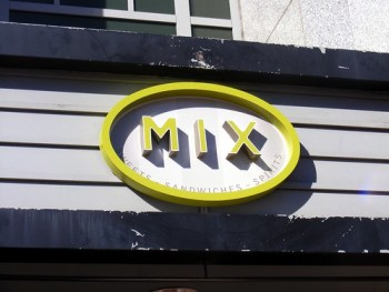 Mix Restaurant sign. acnatta/Flickr