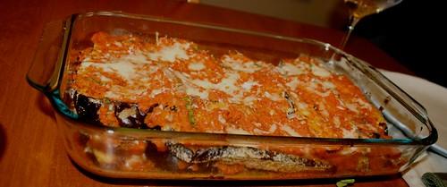 Eggplant Parmesean