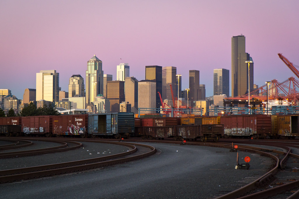 Port of Seattle trains
