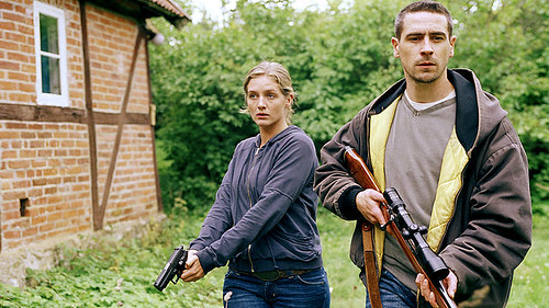 Johanna Sällström and Ola Rapace in Before the Frost