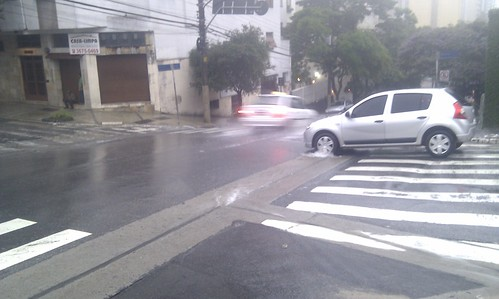 Rain in São Paulo