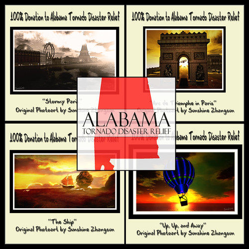 Alabama Tornado Disaster Relief Event by °•♫•°:.Sunshine.:°•♫•°
