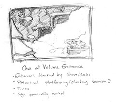 Cave of Volume Entrance during the Multiplayer
