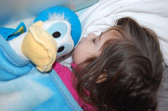 Sleeping with Donald :)