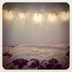 My headboard of lights~