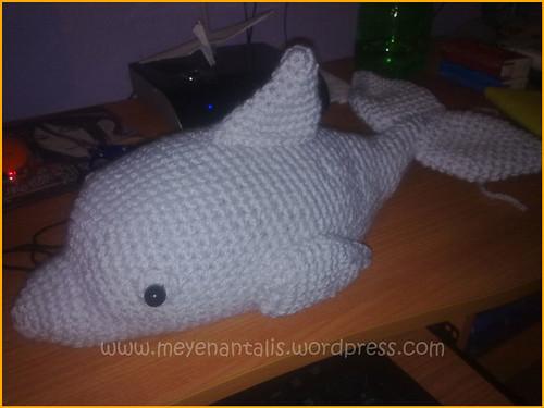 ¡Y el delfín terminado!
