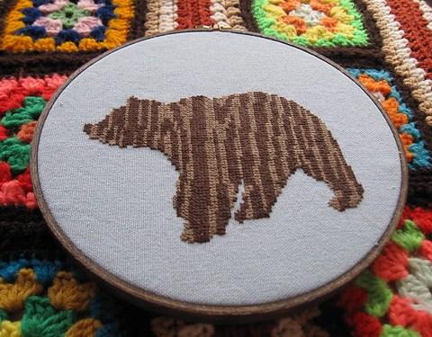 Power Animal : Woodgrain Bear