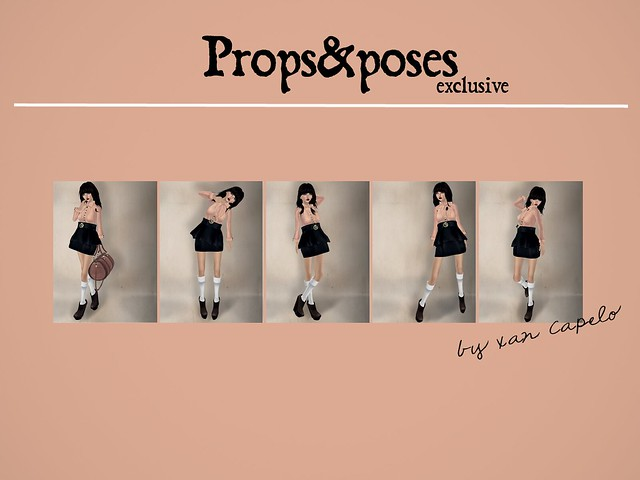 Props&Poses Fair exclusive pack