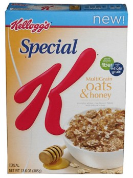 Special K Multigrain Oats & Honey Cereal