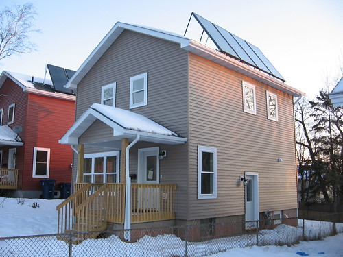 Solar & Efficient Northern Communities Land Trust Homes in Duluth
