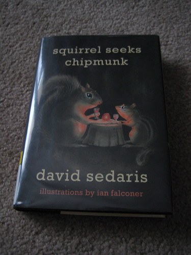 squirrel seeks chipmunk by david sedaris