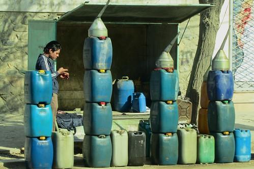 Gas station Kabul Style