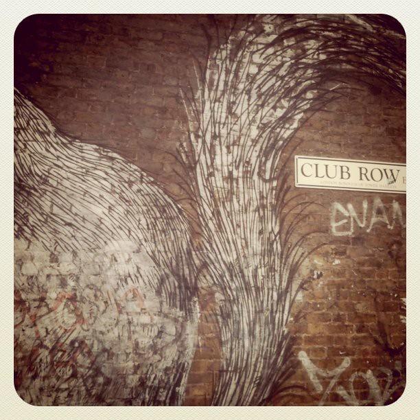 graffiti east london
