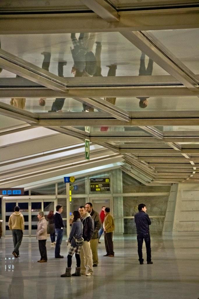 Llegadas del Aeropuerto de Bilbao