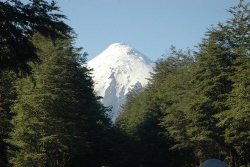 Mount Osorno In Chile