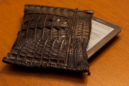 Horned Alligator Kindle Cover