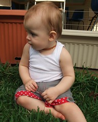 Little Star Upcycled Shorts - Action 1