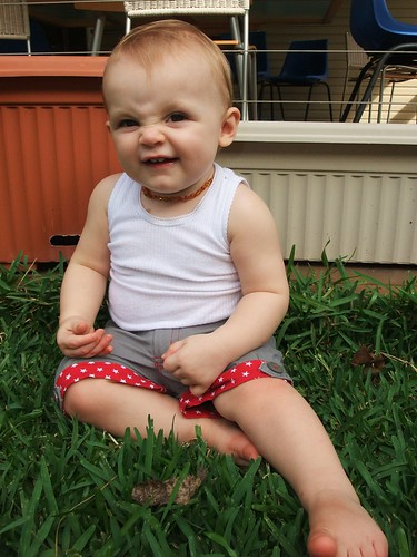 Little Star Upcycled Shorts - Action 2