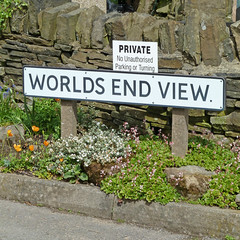 The End of the World is Nigh (no parking or tu...