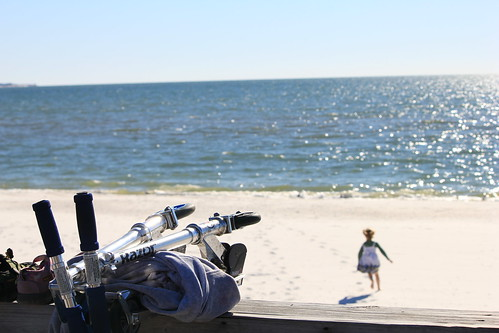 Mexico Beach, FL  1/2011  beach romp