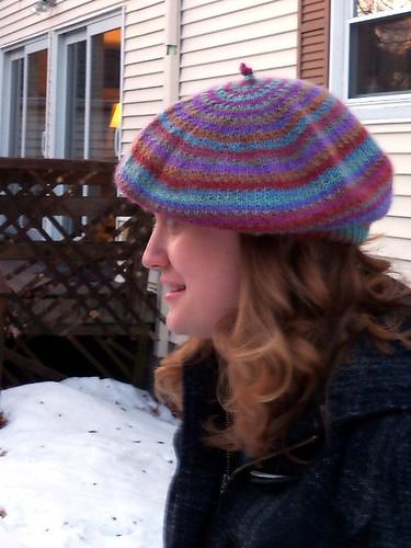Hat B - side