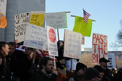 Wisconsin Budget Repair Bill Protest: Scott Wa...
