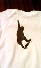 Stencil T-Shirt Craft