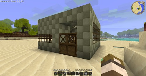 Minecraft - Stable Outside