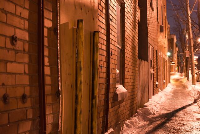 rue poupart nuit