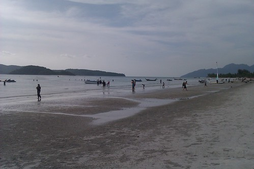 Beach at Pantai Cenang