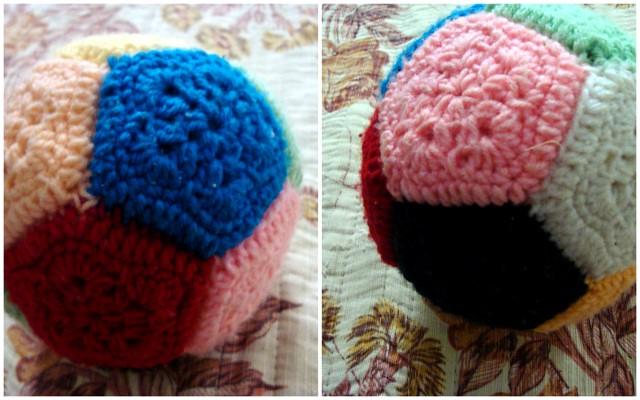 Crochet Pentagon Ball1