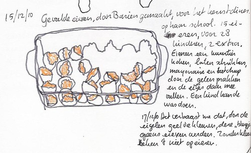 Gevulde eieren / filled eggs