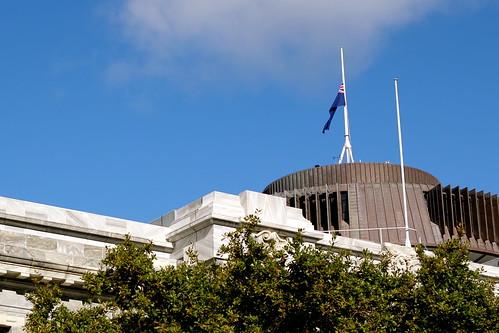 Wednesday: Flag at Half Mast