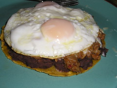 chorizo with eggs