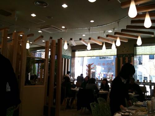 森カフェ 店内