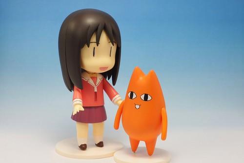 Nendoroid Kasuga Ayumu (Osaka) and Chiyo's father (?)