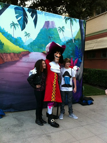 Captain Hook and the Neverland Pirate kids!