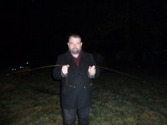 Me dowsing