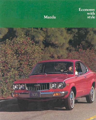 1974 Mazda 808 brochure - page 1