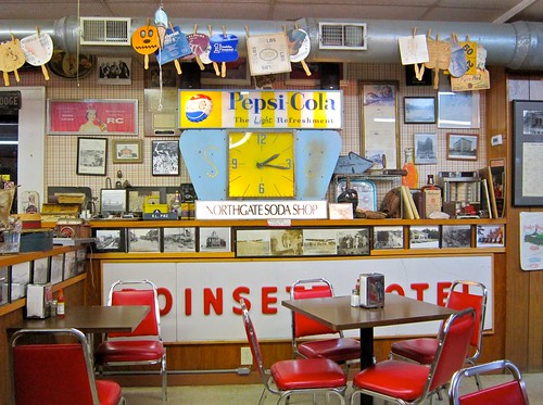 Northgate Soda Shop Interior