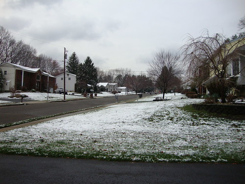 Spring Snow:  March 24, 2011