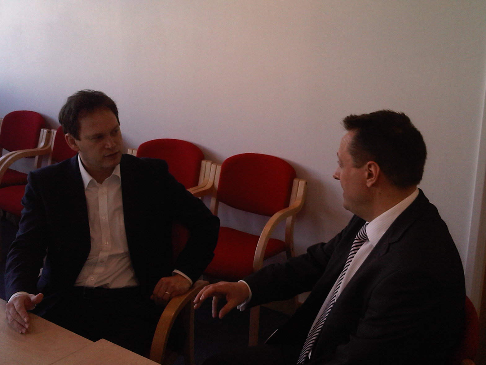 Meeting With the Housing Minister, Grant Shapps