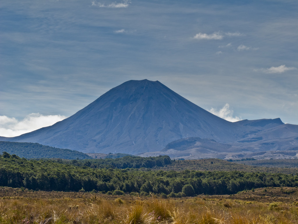Mount Ngauruhoe from near the Desert Road