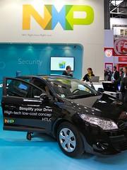 Voiture NFC par NXP @MWC
