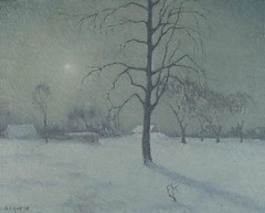 Ault, George  - Silver Moonlight  - 1918