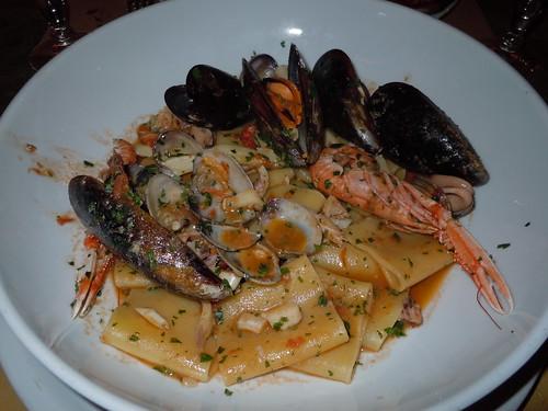 Antica Porta paccheri seafood pasta
