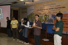 Launching Writers Academy @ Pesta Penulis 2011